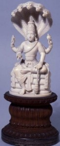 Statuette of Vishnu, sent to Freud by members of the Indian Psychoanalytical Society, based in Calcutta